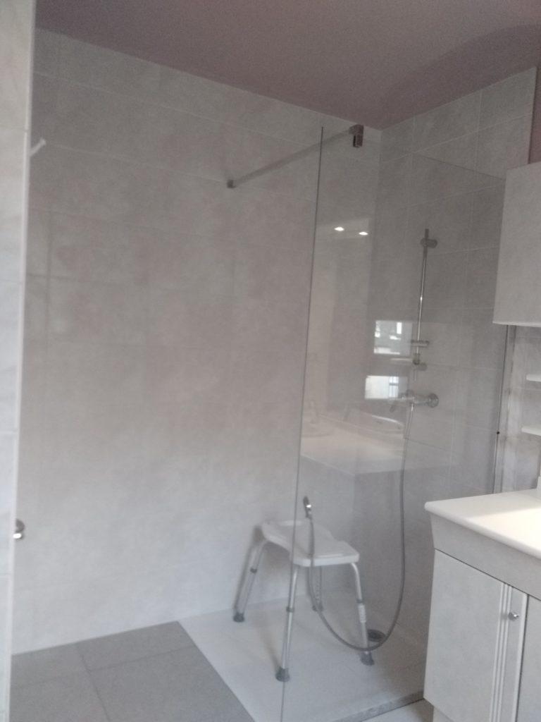 Receveur de douche facon douche à l'italienne